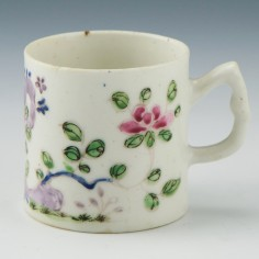 Bow Porcelain Coffee Can c1755