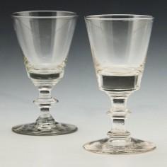 Two Dram Glasses c1840