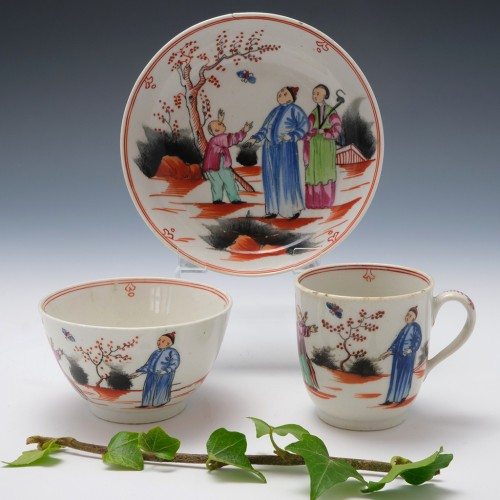 Newhall Boy and the Butterfly Trio c1800