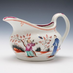 Newhall Boy and the Butterfly Creamer c1800