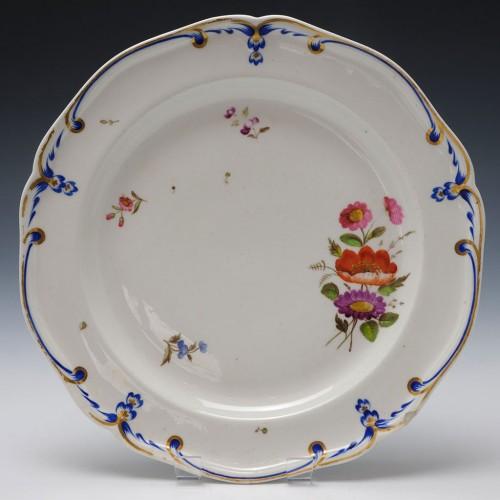 Derby Porcelain Plate c1800
