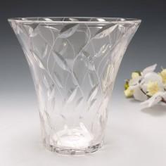 Signed Clyne Farquarson Leaf Pattern Vase for John Walsh 1940