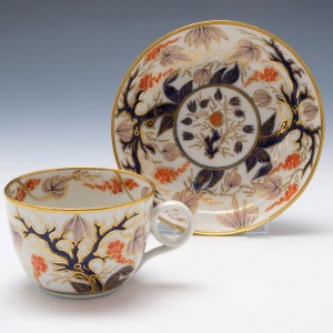 New Hall Pattern 446 Teacup and Saucer c1805