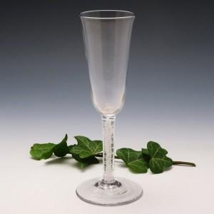 Very Tall Opaque Twist Stem Ale Glass c1760