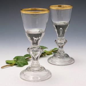 Pair Lauenstein Wine Glasses