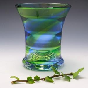 Stevens and Willams Rainbow Vase c1940