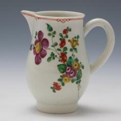 A John Pennington Liverpool Porcelain Sparrow beak Jug c1780
