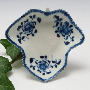 Very Rare Philip Christian Liverpool Porcelain Pickle Dish c1768