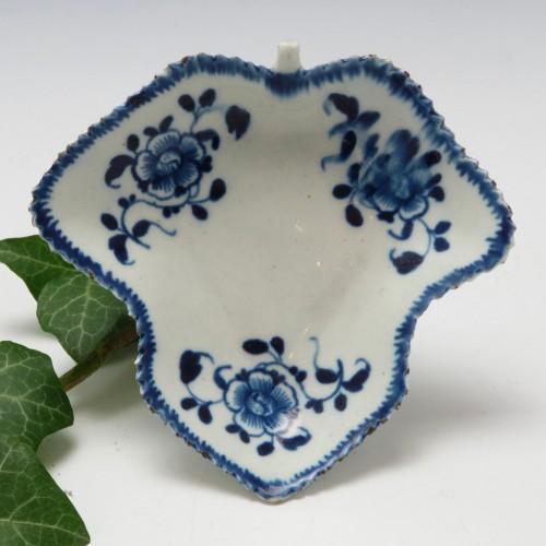 Very Rare Philip Christian Liverpool Porcelain Pickle Dish c1768