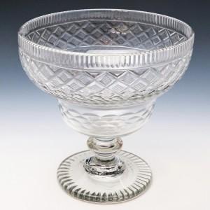 Anglo Irish Kettle Drum Standing Bowl c1830