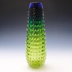 A Prachen Glass Vase By Frantisek Koudelka c1980