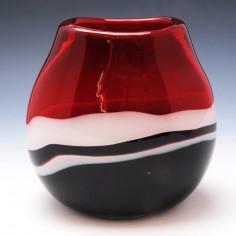 Murano Glass Strata Vase