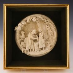Alexandre Schoenewerk Relief Plaque Rebecca At The Well c1860