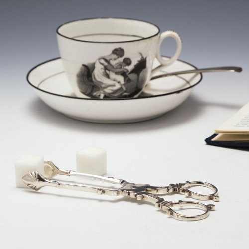 Silver Georgian Style Sugar Nips  London 1907