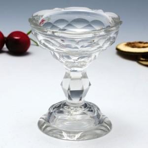 A Fine Georgian Facet Cut Table Salt c1780