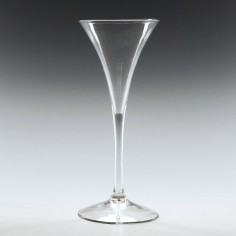 A Plain Stem Toasting Glass c1740