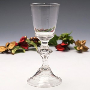 Saxonian Or Thuringian Wine Glass c1770