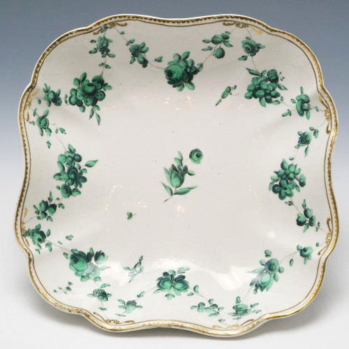 Reserved P.W - Chelsea Derby Lobed Dish c1775