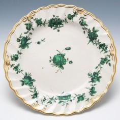 A Chelsea Derby Dessert Plate c1780