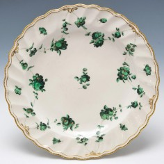 A Chelsea Derby Plate c1780