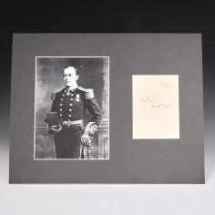 Captain Robert Falcon Scott Signature on Personal Letterhead Jan 12th 1906