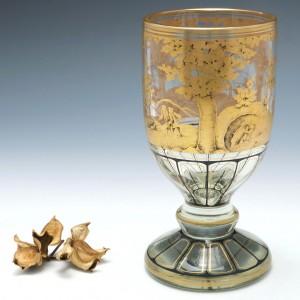 Bohemian Enamelled Goblet c1880