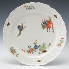 Meissen Korean Lion Plate c1740