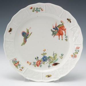 Meissen Korean Lion Plate c1740