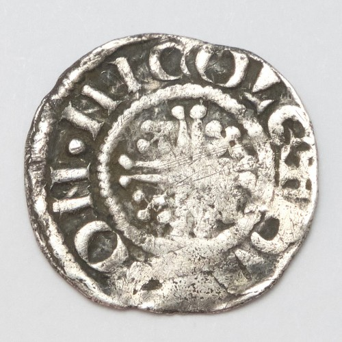 King John 1199–1216 Hammered Silver Penny Lincoln Mint