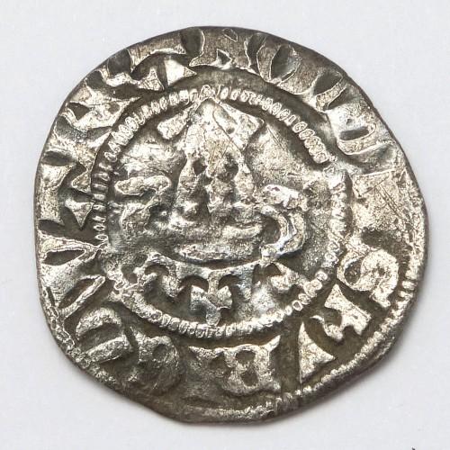 Edward I 1272–1307 Hammered Silver Penny Canterbury Mint