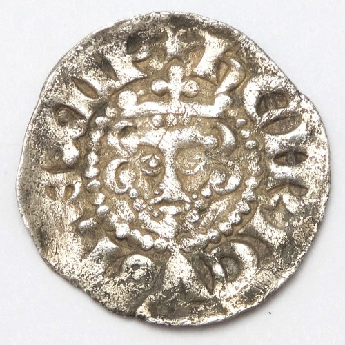 Henry III Hammered Silver Penny Phase 2 1248-1250 Canterbury Mint