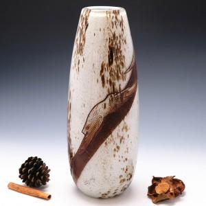 Very Tall Legras Art Deco Vase c1925