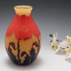 Verrerie D'Art Degue Cameo Vase c1930