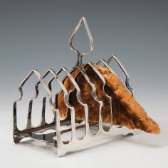 Sterling Silver Toast Rack Sheffield 1928