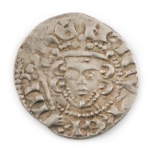 Henry III Silver Voided Long Cross Penny, London Mint Nicole Moneyer 1250-1272