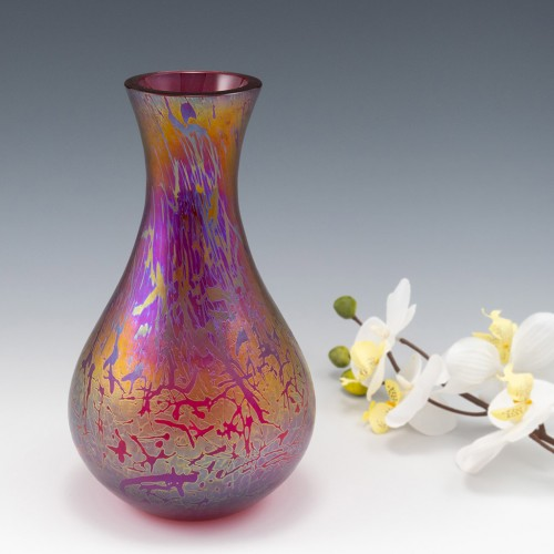 A Royal Brierley Studio Range Vase c1990