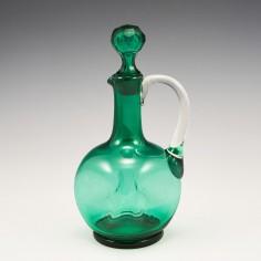 A Victorian Spirit or Liqueur Bottle c1870