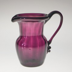 Late 18th Or Early 19th Century Amethyst Glass Cream Jug