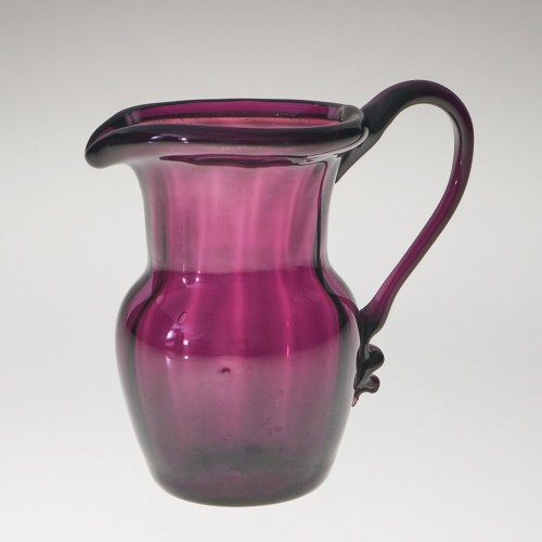 Late 18th Or Early 19th Century Amethyst Glass Cream Jug