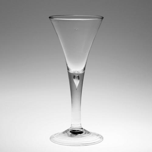 A Fine Mid 18th Century Plain Stem Wine Glass