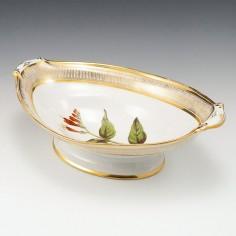 A Coalport Botanical Porcelain Comport 1805-10