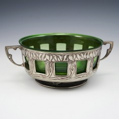 A Tudric Pewter Bowl Attributed To David Veazey c1904