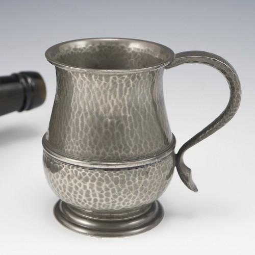 A Tudric Pewter Half Pint Tankard c1915