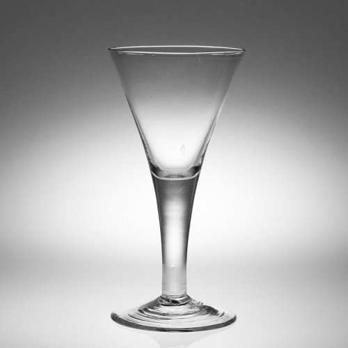 Very Large 18th Century Wine Glass Goblet c1750