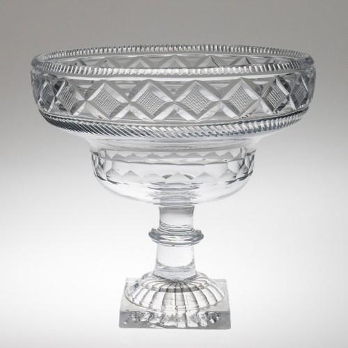 Irish Waterford Kettledrum Bowl Samuel Miller Pattern c1800