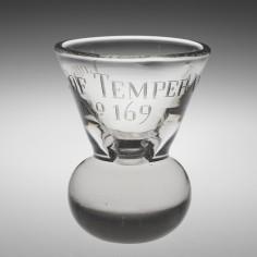 Lodge Of Temperance London Firing Glass