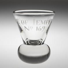 A Masonic Firing Glass