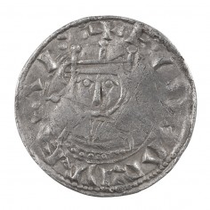 Anglo Saxon Edward The Confessor Silver Penny Facing Bust/Small Cross Type 1062-5