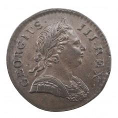 George III Copper Halfpenny, 1772