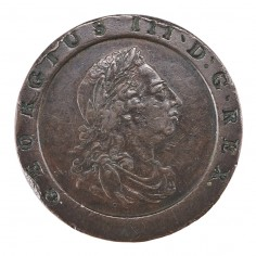 George III Copper Cartwheel Twopence, Second Coinage, 1797